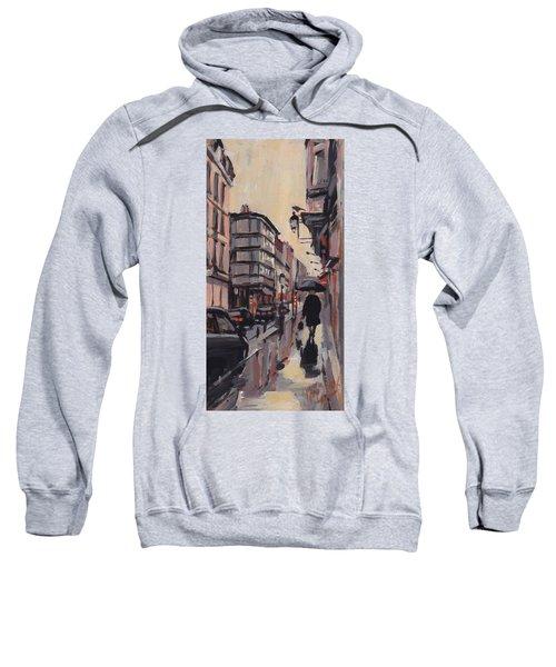Pluie Rue De Regence Liege Sweatshirt