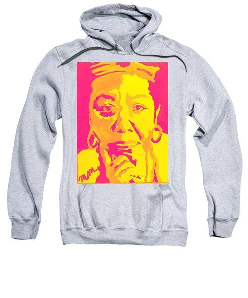 Poetically Speaking  Sweatshirt by Miriam Moran