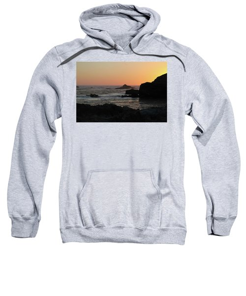 Sweatshirt featuring the photograph Point Lobos Sunset by David Chandler