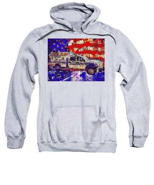 Police Truck Sweatshirt