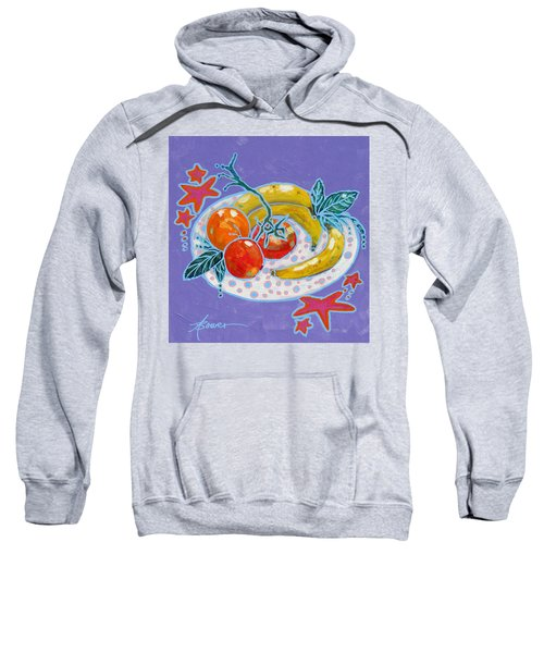 Polka-dot Plate  Sweatshirt