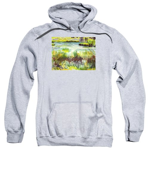 Pond And Plants Sweatshirt