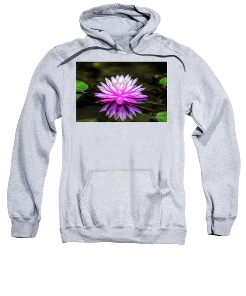 Pond Water Lily Sweatshirt