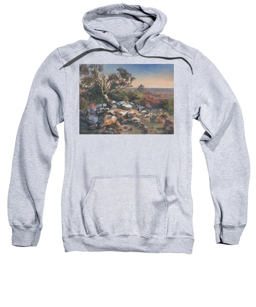 Pondering By The Canyon Sweatshirt