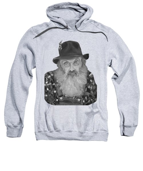Popcorn Sutton Moonshiner Bust - T-shirt Transparent B And  W Sweatshirt
