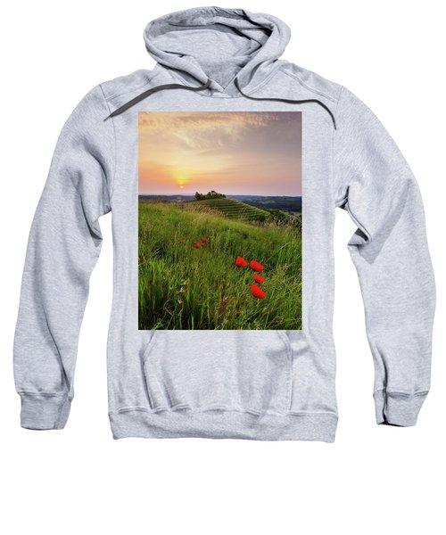Poppies Burns Sweatshirt