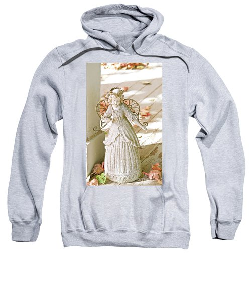 Porch Angel In The Fall Sweatshirt