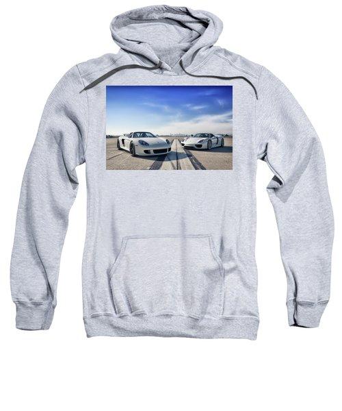 #porsche #carreragt And #918spyder Sweatshirt