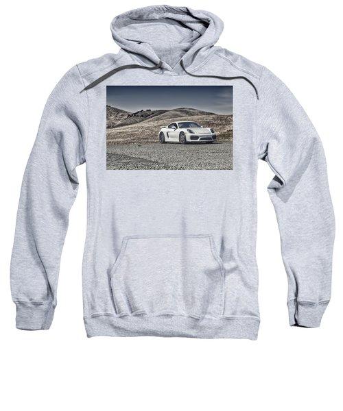 Porsche Cayman Gt4 In The Wild Sweatshirt
