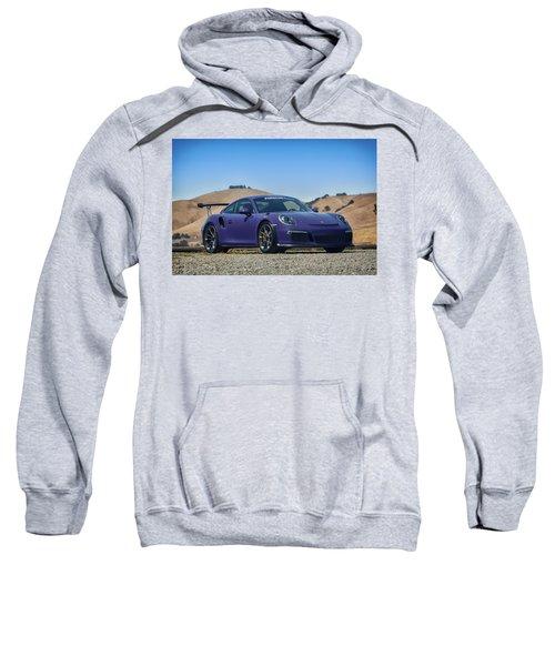 #porsche #gt3rs #ultraviolet Sweatshirt