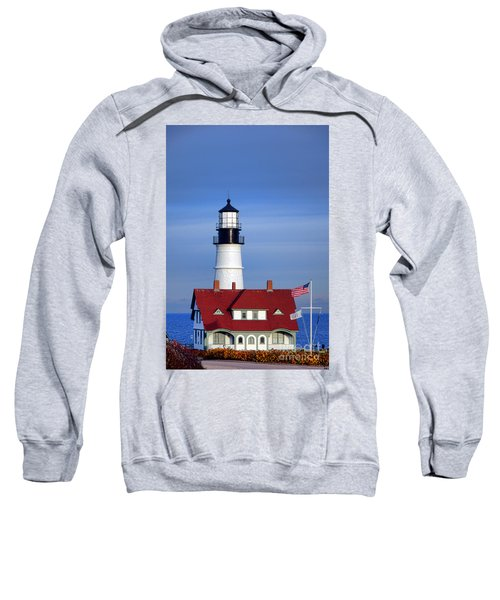 Portland Head Light And Keeper House Sweatshirt