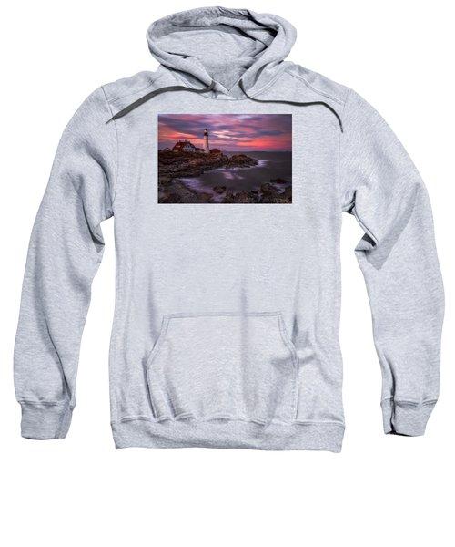 Portland Head Sunset Sweatshirt