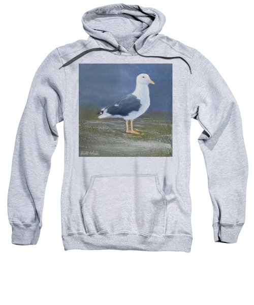 Portrait Of A Seagull Sweatshirt