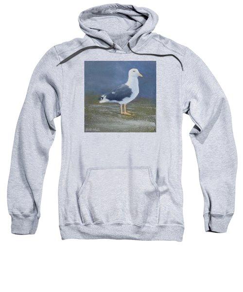 Portrait Of A Seagull Sweatshirt