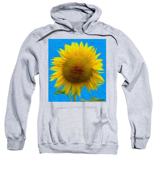 Portrait Of A Sunflower Sweatshirt
