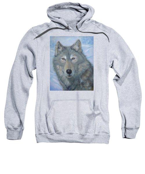 Portrait Of A Wolf Sweatshirt