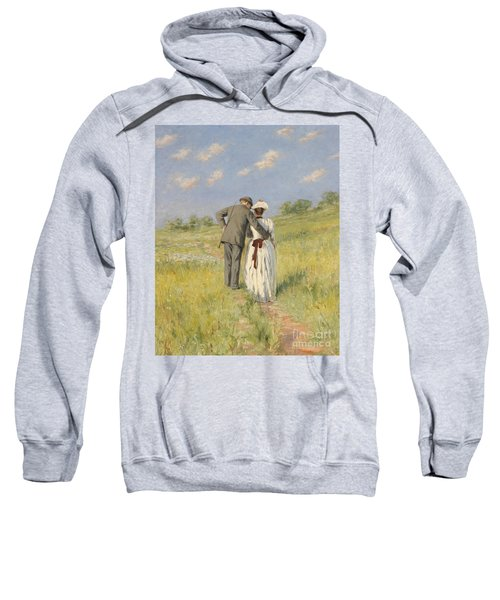 Portrait Of Captain William Holmes And Mary Shafter Mckitterick Sweatshirt