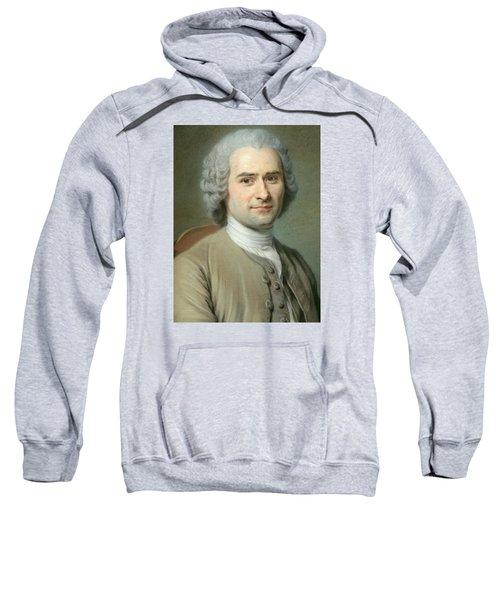 Portrait Of Jean Jacques Rousseau Sweatshirt