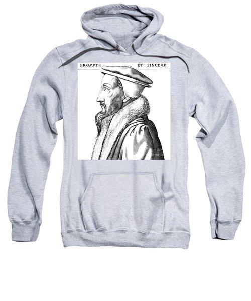 Portrait Of John Calvin Sweatshirt