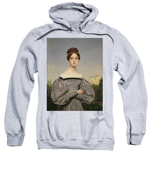 Portrait Of Louise Vernet Sweatshirt