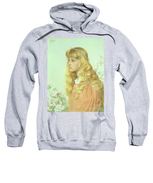 Portrait Of Miss Adele Donaldson, 1897 Sweatshirt