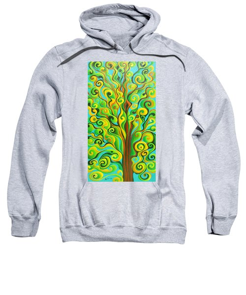 Positronic Spirit Tree Sweatshirt