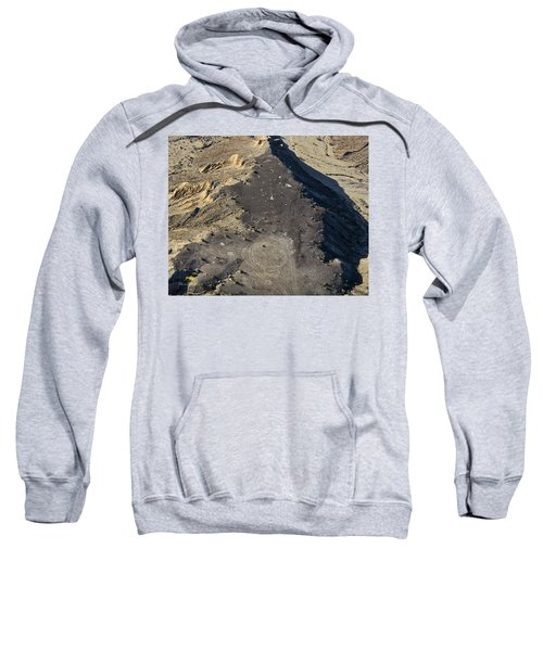 Sweatshirt featuring the photograph Possible Archeological Site by Jim Thompson