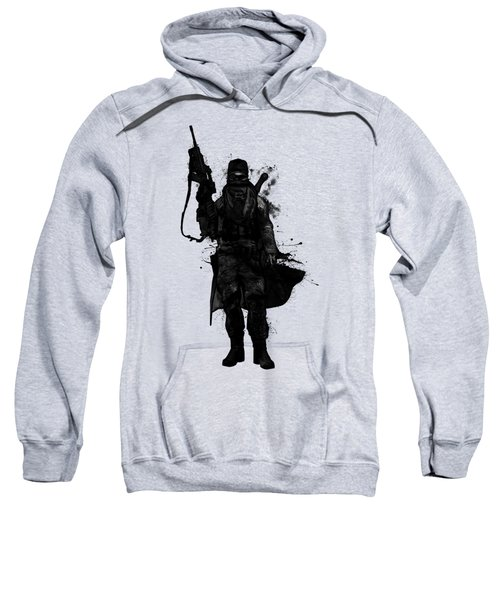 Post Apocalyptic Warrior Sweatshirt by Nicklas Gustafsson