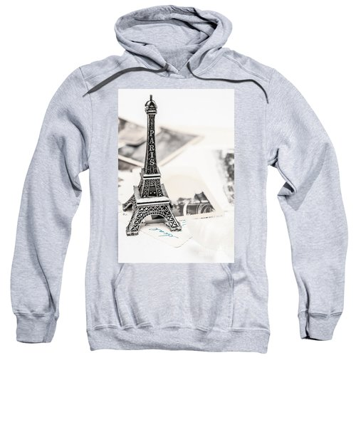 Postcards And Letters From Paris Sweatshirt