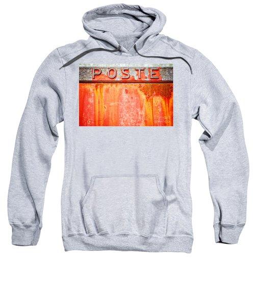 Poste Italian Weathered Mailbox Sweatshirt by Silvia Ganora