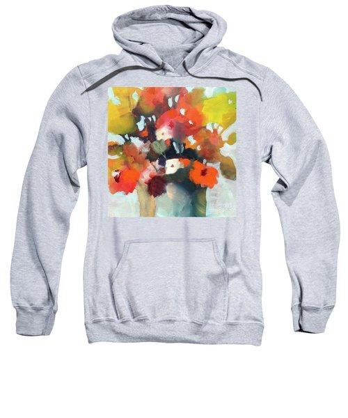 Pot Of Flowers Sweatshirt