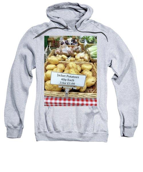 Potatoes At The Market  Sweatshirt by Tom Gowanlock