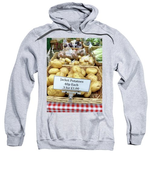 Potatoes At The Market  Sweatshirt