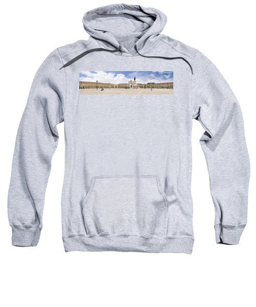 Praca Do Comercio, The Square Of Commerce Sweatshirt