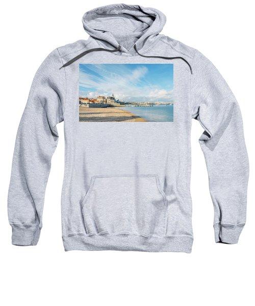 Praia Da Ribeira, Cascais, Portugal Sweatshirt