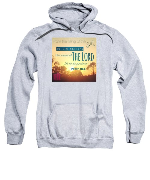 From The Rising Of The Sun Sweatshirt