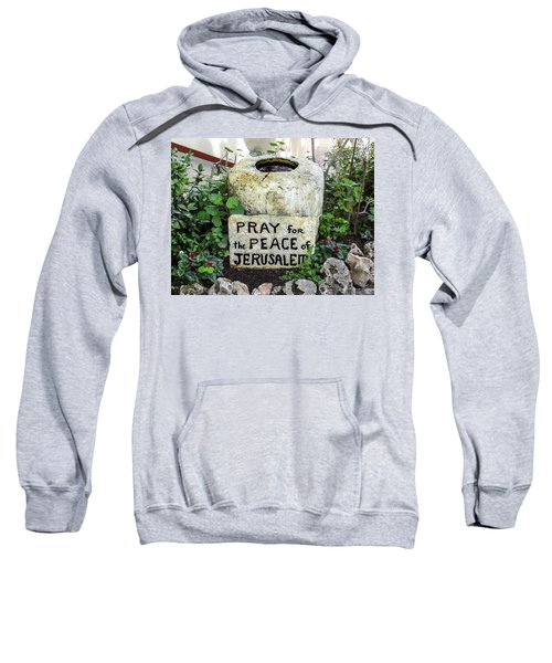 Pray For The Peace Of Jerusalem Sweatshirt