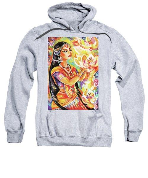 Pray Of The Lotus River Sweatshirt
