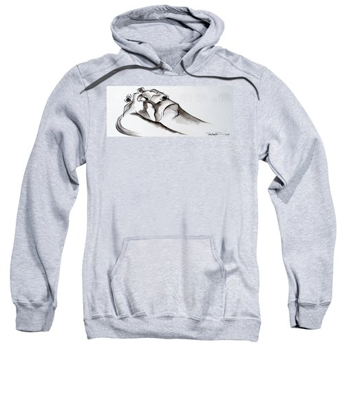 Preening Sweatshirt