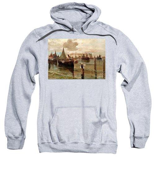 Preparing The Trap Sweatshirt