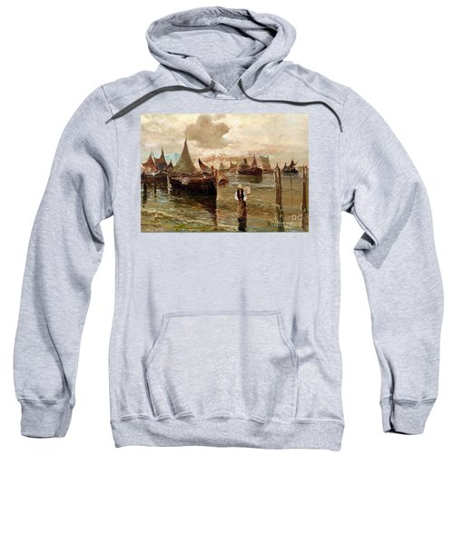 Preparing The Trap Sweatshirt