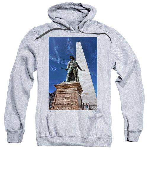 Prescott Statue On Bunker Hill Sweatshirt