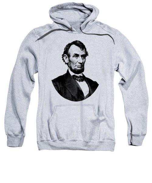 President Abraham Lincoln Graphic Sweatshirt
