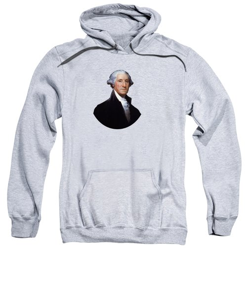 President George Washington Sweatshirt by War Is Hell Store