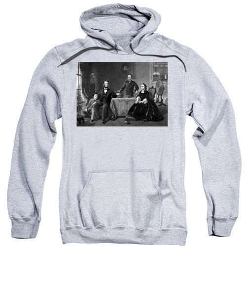 President Lincoln And His Family  Sweatshirt