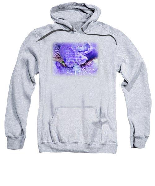 Pretty Purple - Verse Sweatshirt by Anita Faye