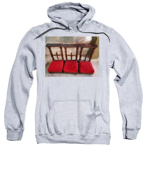 Prie Dieu - Prayer Kneeler Sweatshirt