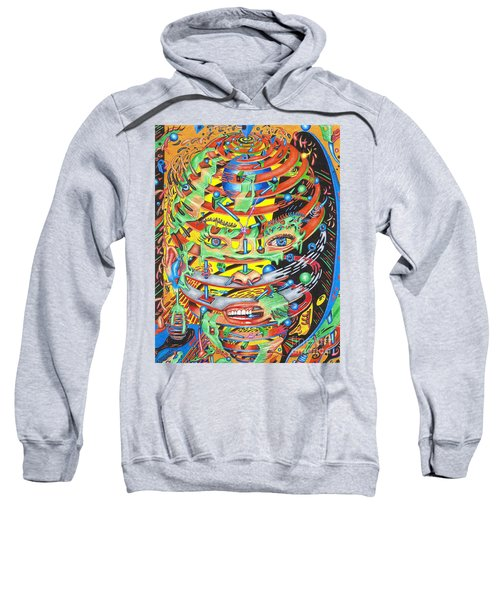 Primordial Inception Of Life At Daybreak Sweatshirt