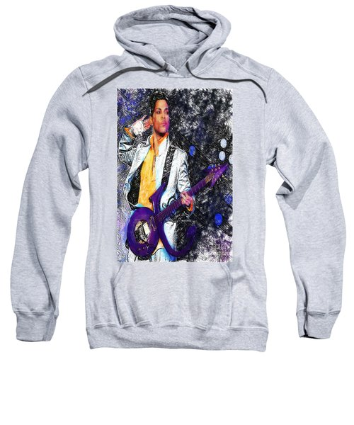 Prince - Tribute With Guitar Sweatshirt