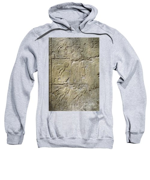 Private Tombs -painting West Wall Tomb Of Ramose T55 - Stock Image - Fine Art Print - Thebes Sweatshirt